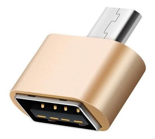 Imagen 1 de 2 de Adaptador Otg Micro Usb Pendrive Cable Tablet Sams Universal