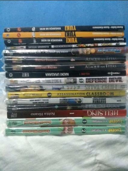 Varios Mangás, Naruto, Ataque Dos Titãs, One Piece, Dragon B