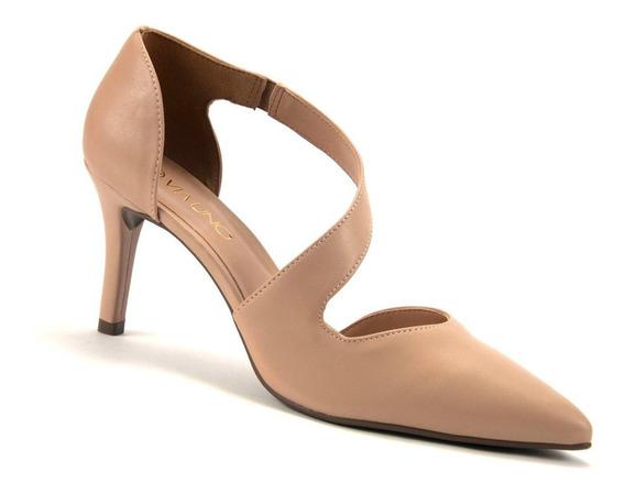 Sapato Scarpin Via Uno Salto Fino 404004 - Envio 24 H
