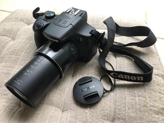Câmera Canon Powershot Sx60 Hs (+cartão De Memória 32gb)