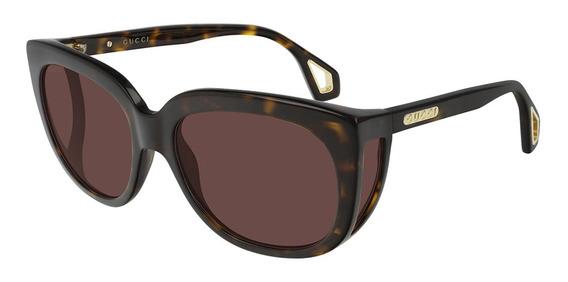 Gucci Gg 0468s - Cor 002 - Óculos De Sol Gucci