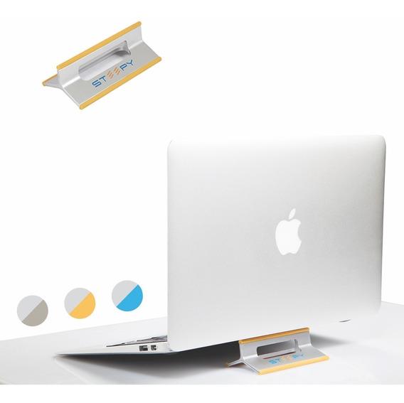 Base Soporte Steepy Para Laptop Tablet Y Celular - Naranja