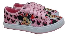 Tênis Infantil Minnie Mouse Meninas Personagens