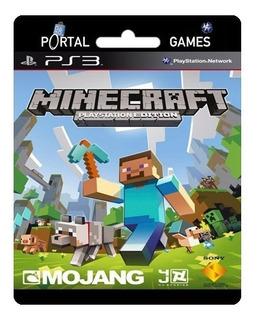 Minecraft Hd Para Ps3 Juego Completo + 15% Off