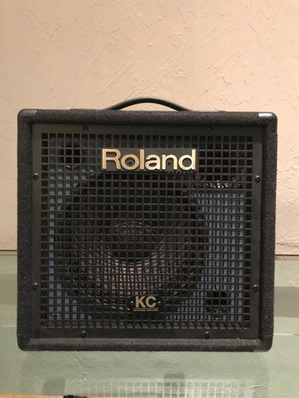 Amplificador Roland Kc-60 Para Teclado 40w - Sem Uso.