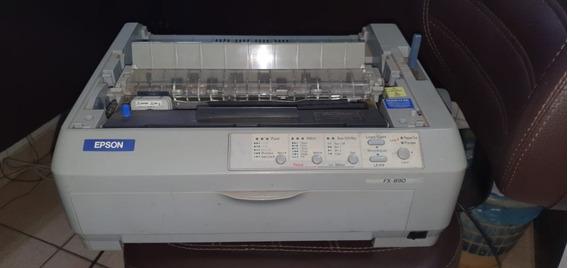 Impressora Epson Matricial Fx-890 Cinza 110v. Usb 18 Agulhas