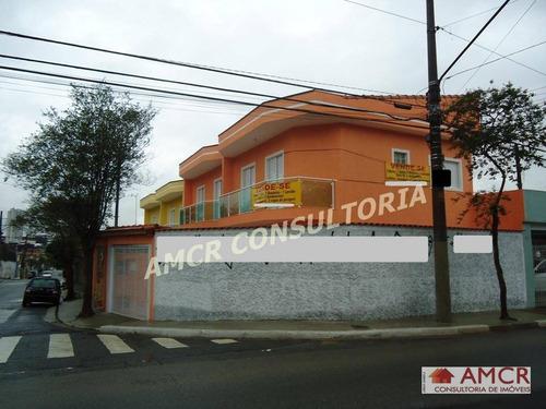 Sobrado  Residencial À Venda, Vila Ponte Rasa, São Paulo. - So0235