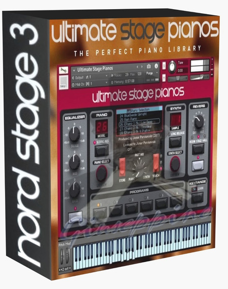 Nord Stage 3 Kontakt 43 Pianos 16 Synths Win Online!