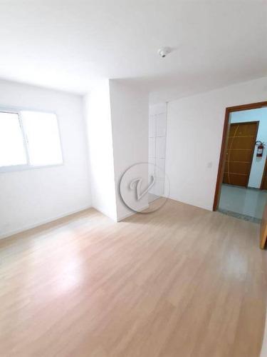 Apartamento À Venda, 40 M² Por R$ 243.000,00 - Vila Pires - Santo André/sp - Ap9897