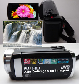 Filmadora Jvc Gz-ex210bub Wifi Full Hd Com Garantia E Nf