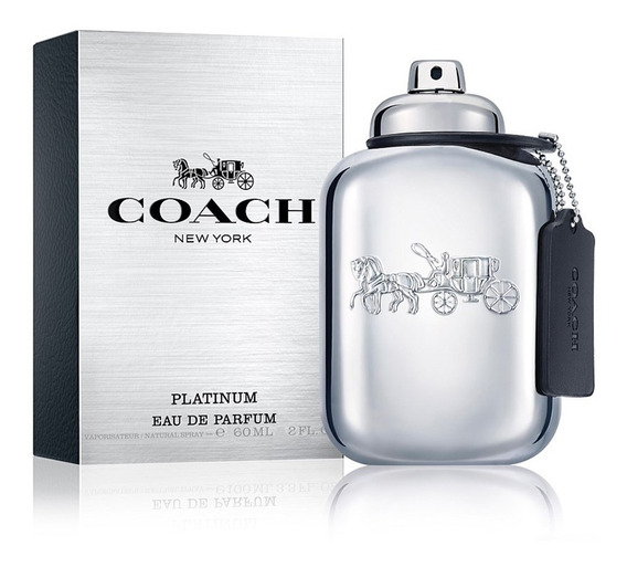 Perfume Masculino Coach New York Platinum Eau De Parfum 60ml