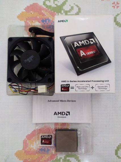 Processador Amd A4 6300 Fm2 3.7 Ghz