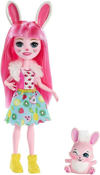 Enchantimals Boneca E Bichinho Bree E Twist - Mattel