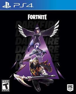 Juego Play 4 Fortnite Darkfire Bundle