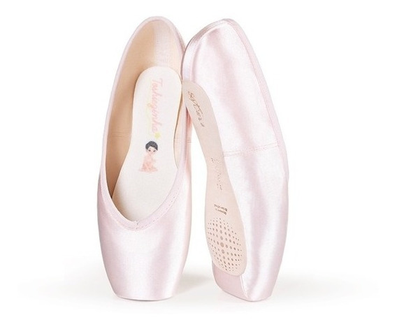Sapatilha Ballet De Ponta Toshiezinha Estudante Só Dança