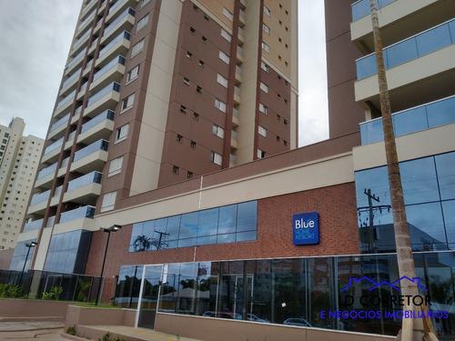 Imagem 1 de 22 de Apartamento Com 3 Suítes E Varanda Com Churrasqueira A Carvão - Blue102 - 69535433