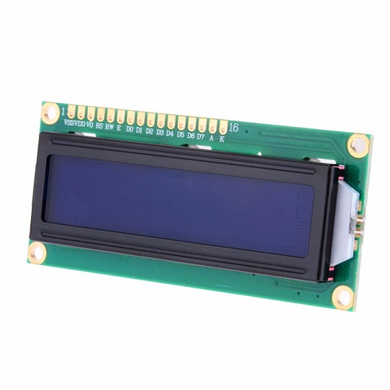 2 Pçs Modulo Display Lcd 16x2 Backlight Azul Arduino Pic