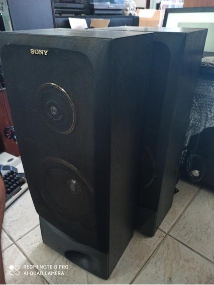 Par De Caixas Acústicas Sony Antiga
