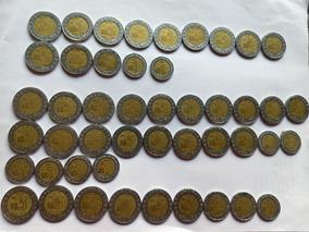 Lote De Monedas De 1 ,2 Y 5 Nuevos Pesos