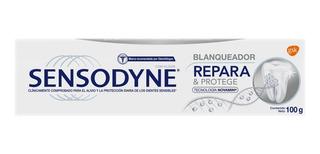 Crema Dental Sensodyne Repara & Protege Blanqueador 100g