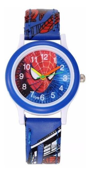 Relógio Homem Aranha Spiderman Criança Luxo - Frete 12,99