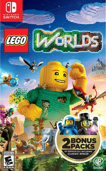 Mídia Física Lego Worlds Switch Frete Grátis Todo Br Só Aqui