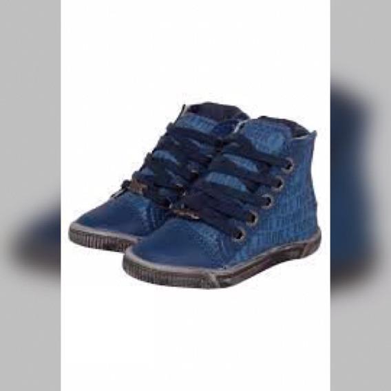 Tênis Cano Alto Tigor T. Tigre Infantil Star Azul