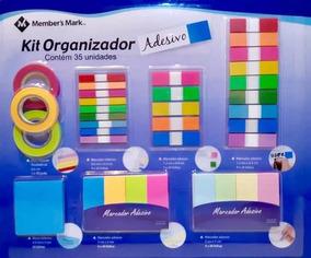 Adesivos Organizadores - Kit Com Vários Tipos De Marcadores