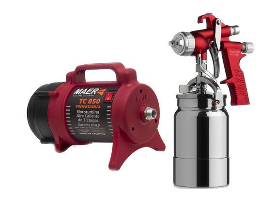 Equipo Para Pintar Maer Tc 850 Aire Caliente - Sagitario