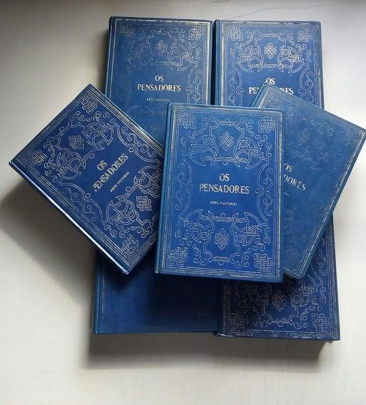 Livro Coleção Os Pensadores Abril 28 Volumes