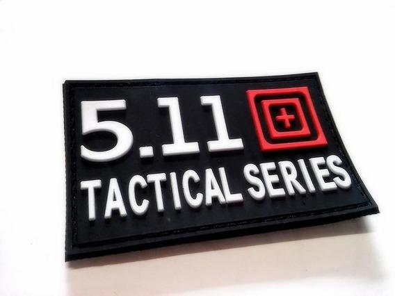 Parche Pvc Goma 5.11 Patch Tactico Militar