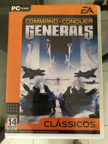 Jogo Command And Conquer Generals - Pc - Original