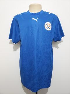 Camisa Futebol Oficial Seleção Paraguai 2006 Away Puma Gg Xl