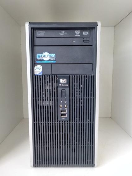 Computador Hp Microtower, Core 2 Duo E6550, 4gb Ddr2,80gb