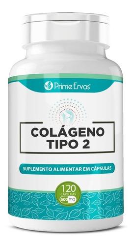 Imagem 1 de 4 de Colágeno Tipo 2 Natural 120 Cápsulas De 40mg