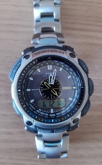 Relógio Casio Pro Trek Titânio Pgr500 - T
