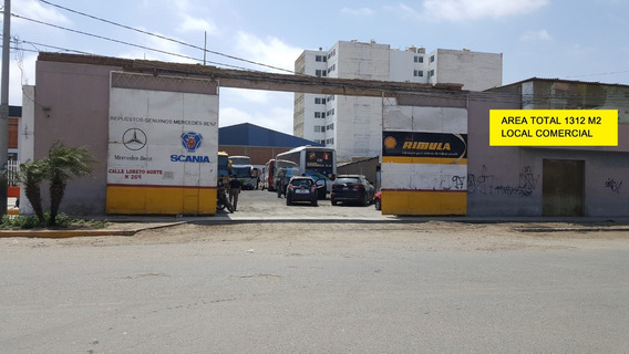 Vendo Local Comercial 1312 M2 Urb Patazca Chiclayo