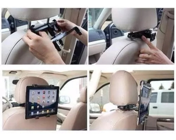 Suporte Veicular Tablet iPad Banco Traseiro Até 11 Polegadas