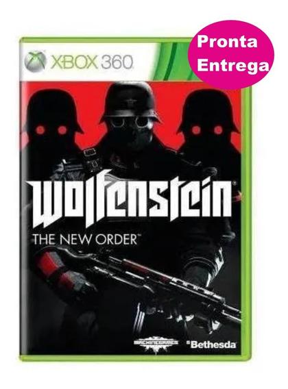 Wolfenstein The New Order Xbox 360 Original - Novo - Lacrado