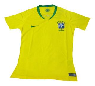 Camisa Seleção Brasileira Camiseta Masculina E Feminina