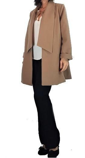 Tapado De Paño Mujer Abrigo Sacon Capa Talles Grandes