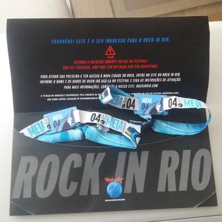 Ingresso Rock In Rio Dia 4 - Iron Maiden (meia Entrada)