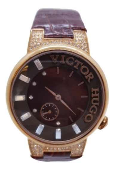Relógio Feminino Rosê Victor Hugo Vh10112lsr/40
