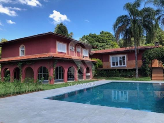 Locação De Casa De Alto Padrão Em Condomínio Fechado Na Cidade De Itu - Cód: Itul - Itul - 34238162