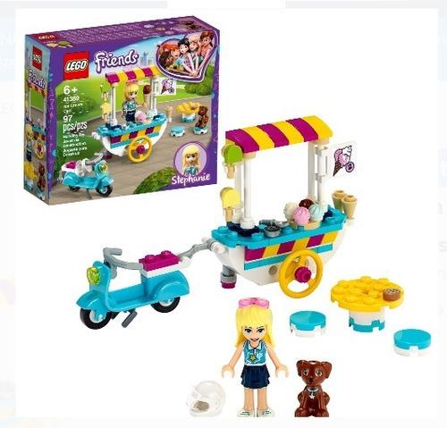 Lego Friends Carrito De Helados De 97 Pzs Mod.41389 Original