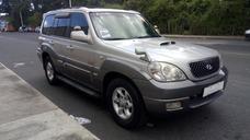 Hyundai Terracan Modelo 2005 Recibo Vehiculo