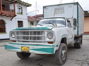 Camioneta Dodge D300 Modelo 1979 Furgon