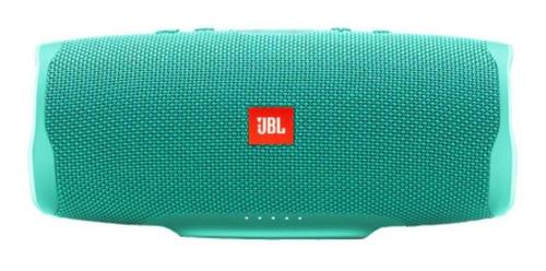 Imagen 1 de 4 de Parlante JBL Charge 4 portátil con bluetooth teal 110V/220V