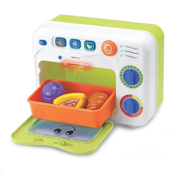 Brinquedo Forno Cozinhe & Aprenda Com Som E Luz Win Fun 761