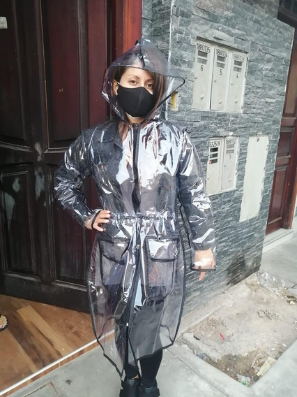 Impermeable Protector Para Mujer